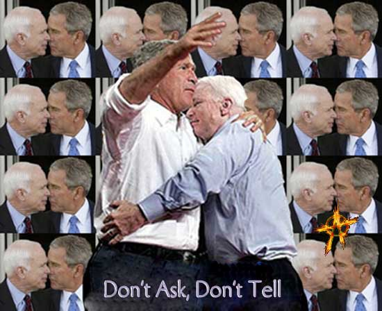 Chickenhawk Lover McCain becomes Obama's chief critic