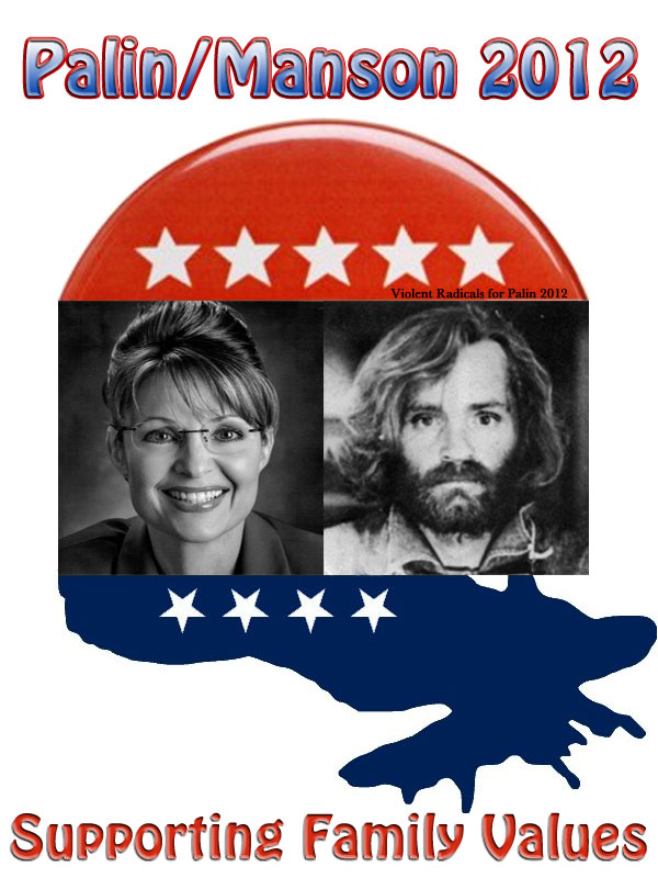 Violent Radical Tea Party Republicans for Palin 2012