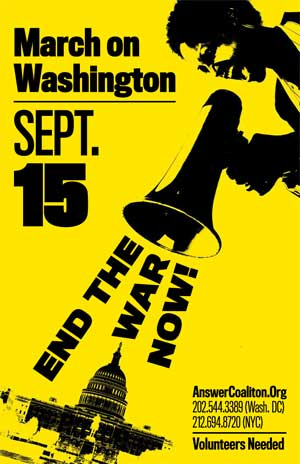 March on Washington September 15th