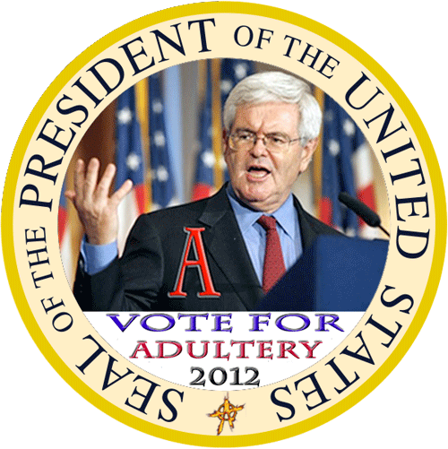 A Vote for Newt Is A Vote for Adultry ?