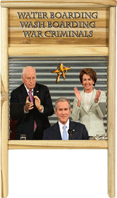 Dick, George, & Nancy: Water boarding, Wash Boarding, War Criminals