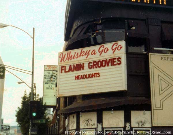 Flamin' Groovies at the Whiskey a Go Go