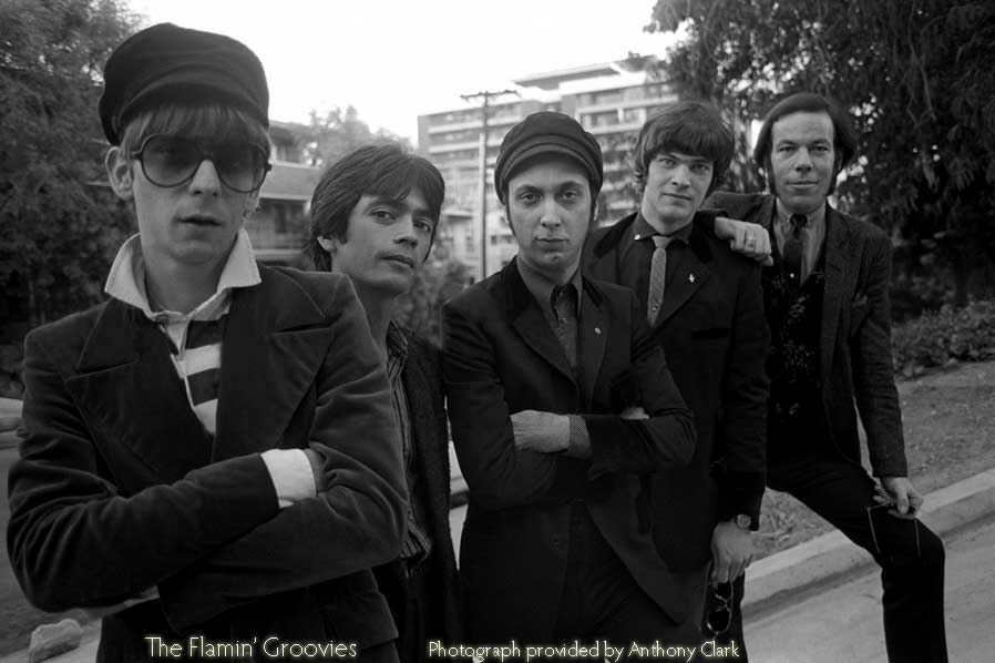 Flamin' Groovies - Photograph provided by Anthony Clark