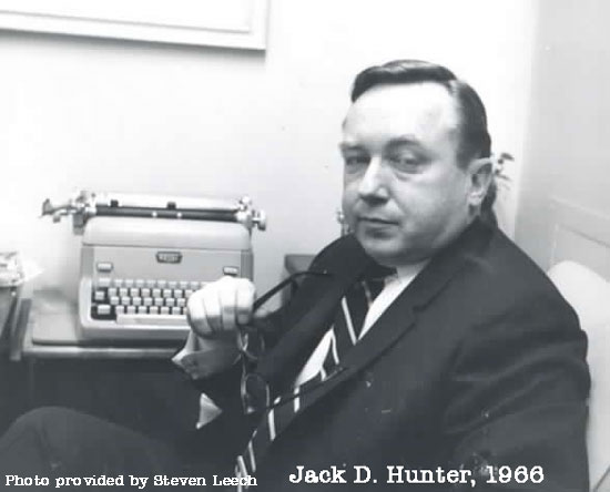 Jack D. Hunter, 1966, Photo by Steven Leech