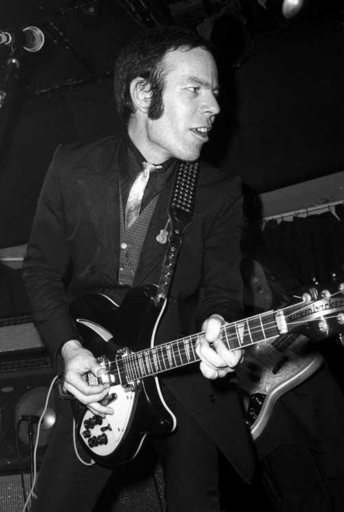 Mike Wilhelm - Flamin' Groovies - Canada - photograph provided by Anthony Clark