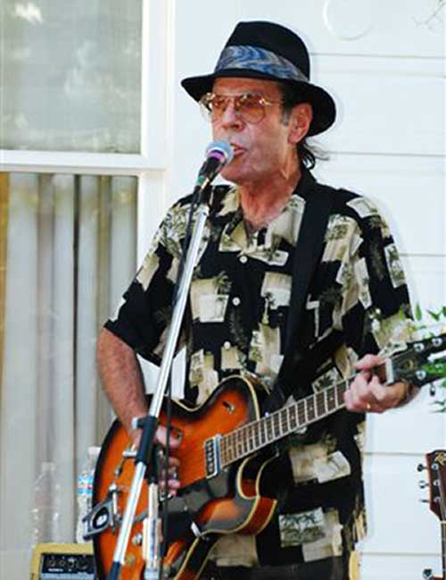 Bottle Rock Blues and Rhythm Band Leader Mike Wilhelm
