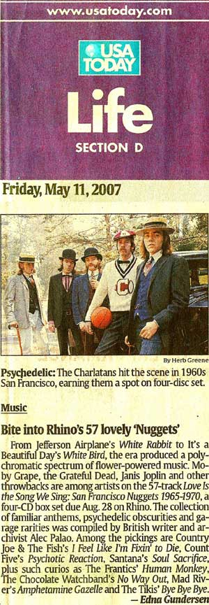 The Charlatans - USA Today