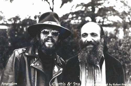 Curtis and Ira Cohen - Photograph: Robert Pruzan