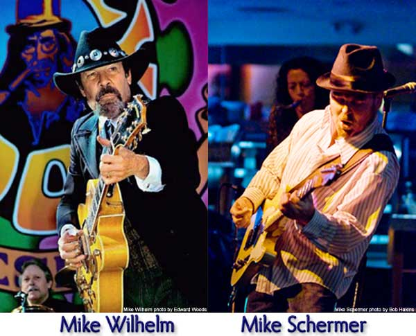 Mike Wilhelm and Mike Schermer