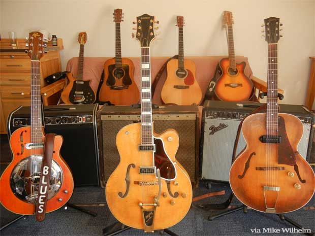 Mike Wilhelm's Guitars: Featuring Mike's 1954 Gretsch Country Club