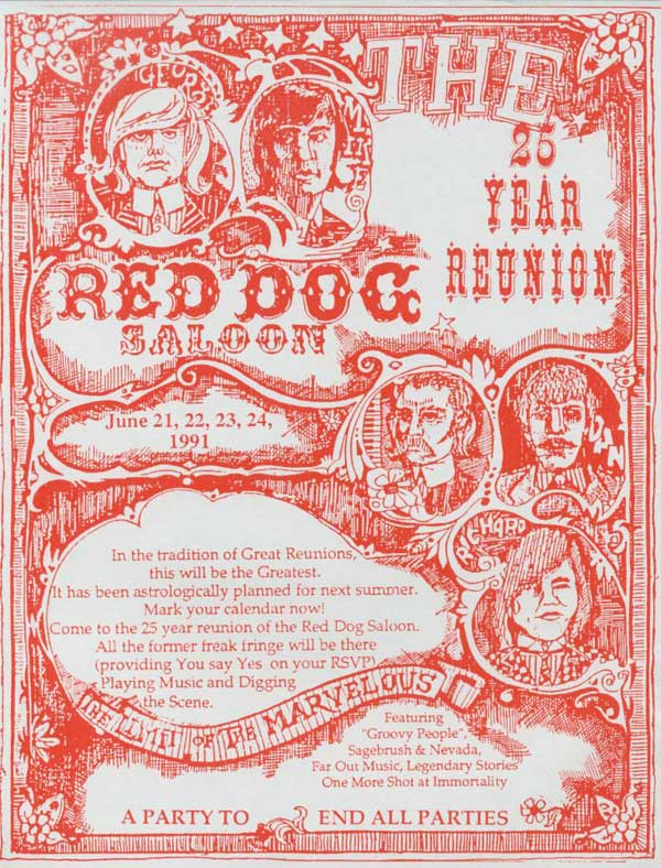 the Charlatans Red Dog Reunion