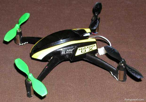 nQX without propeller protectors