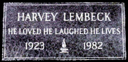 In Memory of Harvey Lembeck and the Ratz