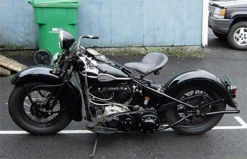 1946 Harley-Davidson Springer