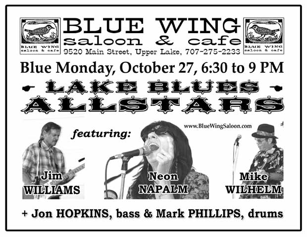 Lake Blues Allstars - October 27th
