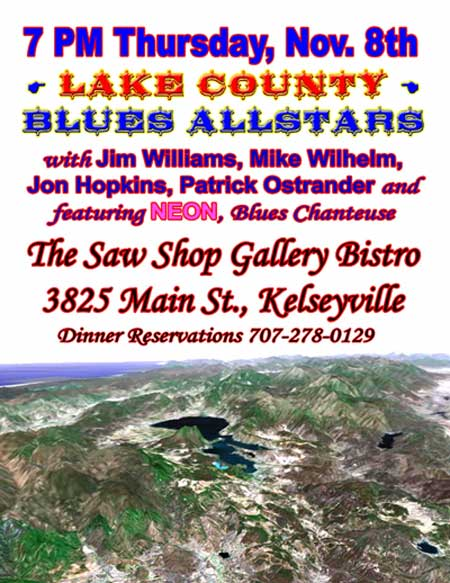 Lake County Blues Allstars - Kelseyville, Ca., Nov. 8th, 2007 - 7PM