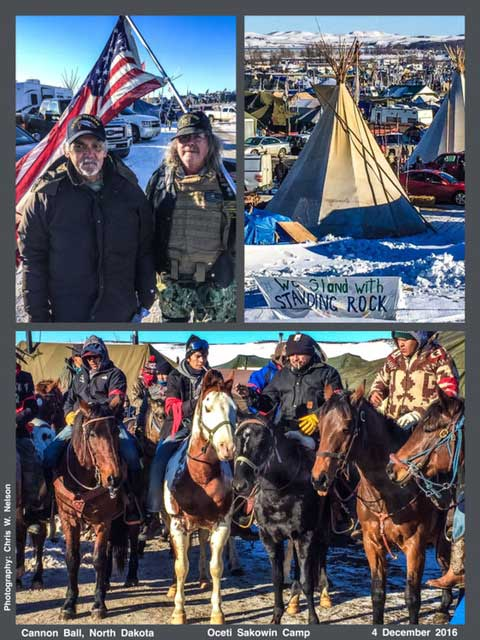 Chris W Nelson, Standing Rock