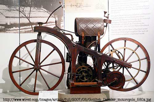 Aug. 30, 1885: Daimler Gives World First 'True' Motorcycle