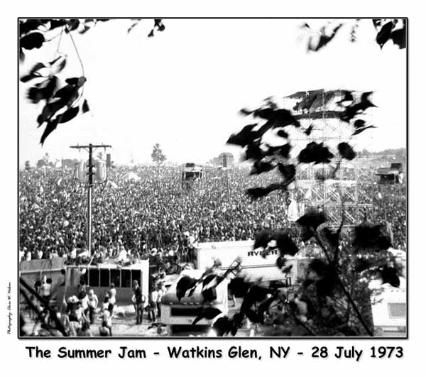The Summer Jam - Watkins Glen, NY - 27-28 July 1973