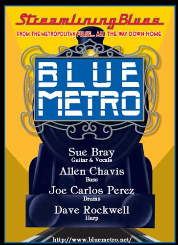 Streamlining Blues - Blue Metro - http://www.bluemetro.net/