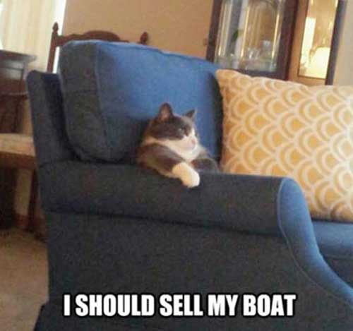 I should seel my boat
