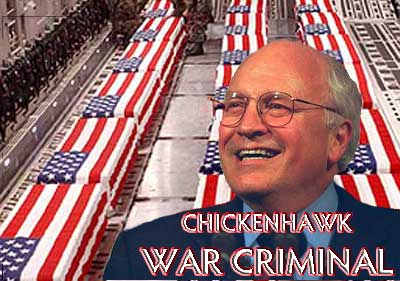 Chickenhawk War Criminal for Helliburdon