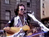 Country Joe McDonald at the 1980 Nobody for President Rally in Union Square, San Francisco, CA