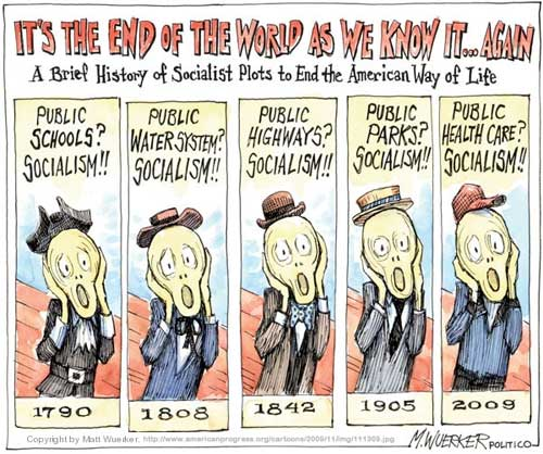 It's The End of the World As We Know It...Again by M.Wuerke - A Brief History of Socialist Plots to End the American Way of Life