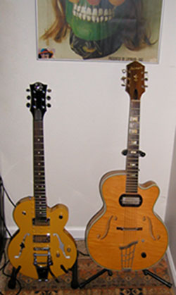 Normandy and Harmony Guitars