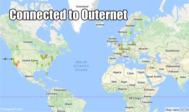 Connected to Outernet