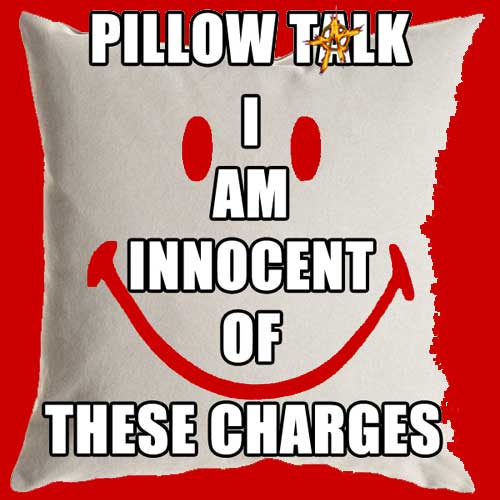 Pillow Talk ~ I am innocent of these charges