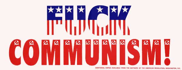 Paul Krassner Bumper Sticker on Communism