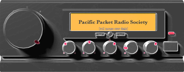 Pacific Packet Radio Society - PPRS - First Packet Radio Repeater - December 10, 1980
