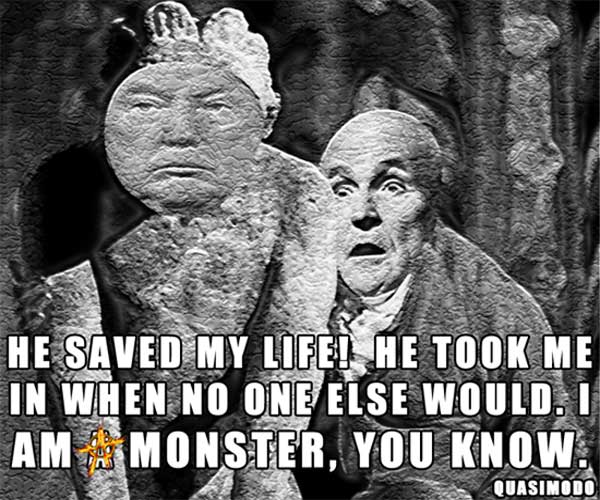 He saved my life! He took me in when no one else would. I am a monster, you know. ~ Quasimodo