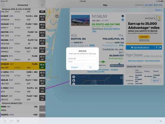 realADSB AppleTV Nikolay Klimchuk Screenshot