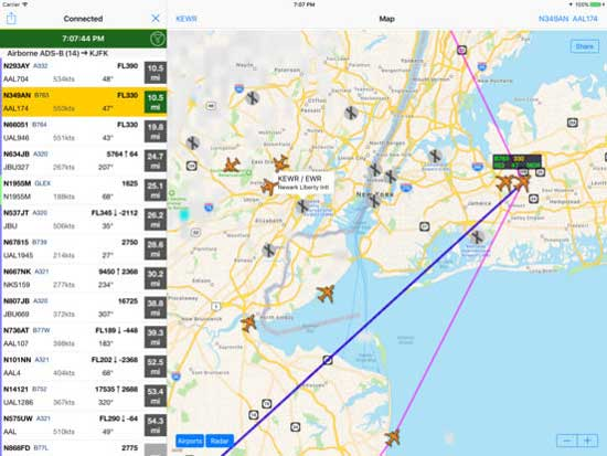 realADSB Nikolay Klimchuk AppleTV Screenshot