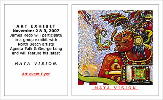 Art Exhibit - AGNETA FALK - GEORGE LONG - JAMES REDO