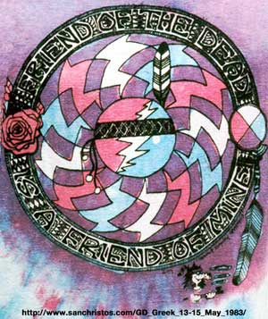 Friend of the Dead, Is A Friend of Mine - SanChristos.com - Grateful Dead, Greek Theater, Berkeley, CA, May 13-15, 1983