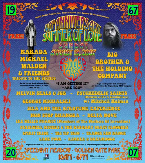August 19, 2007 Summer of Love gathering