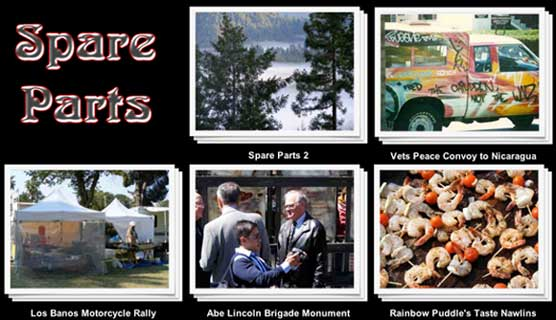 Spare Parts - New slideshows from Rainbow Puddle