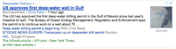 US approves first deep-water well in Gulf