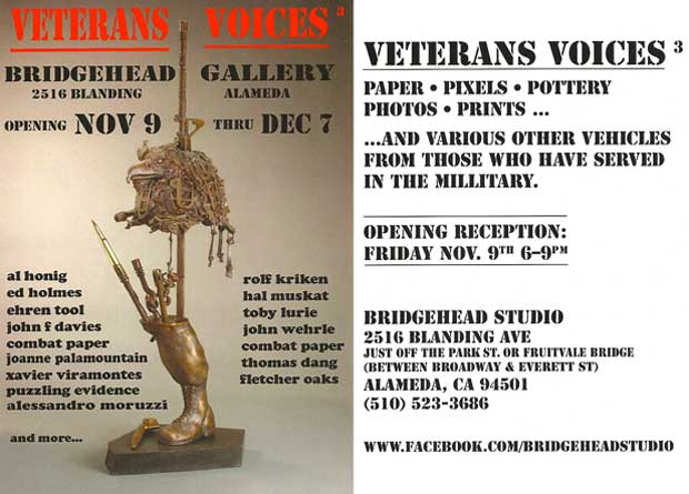 Veterans Voices Gallery Show