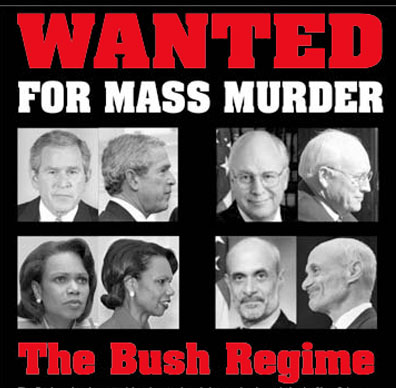 Some of the Bush Administration WAR CRIMINALS