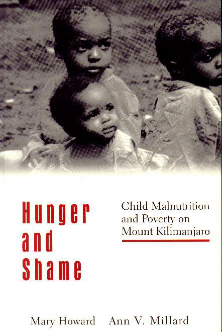 Cover of book, Hunger and Shame